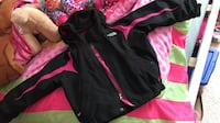 Black and pink The North Face zip-up jacket Olney, 20832