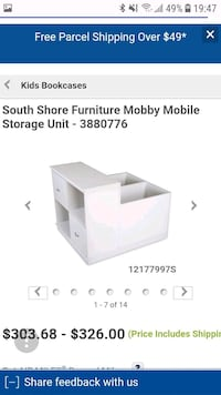 storage forsouth shore mobby loft bed Toronto, M4G 4J1