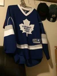 blue and white Toronto Maple Leafs jersey Smith-Ennismore-Lakefield, K0L
