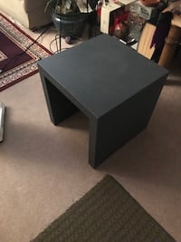 rectangular black wooden coffee table Vancouver, V6P 4M8