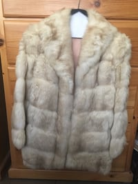 White and brown fox fur coat West Covina, 91790