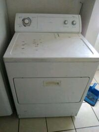white front-load clothes dryer Bakersfield, 93304