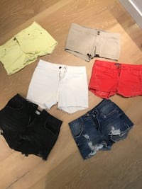 Women's assorted summer shorts Vancouver, V6E