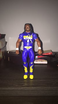 WWE Kofi Kingston Rare Figure