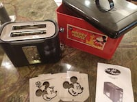 Mickey Mouse Toaster with stencils - limited editi