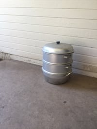 stainless steel container with lid null