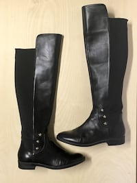 Tommy Hilf Leather Boots Size 7.5 Womens Winter Fall Edmonton, T6J