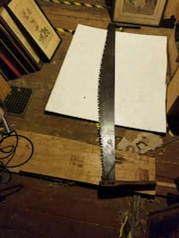 ANTIQUE VINTAGE TWO-MAN CROSS SAW    Plymouth, 48170