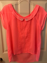 Hollister Neon Pink Top- large Raleigh, 27615