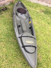 gray and black kayak with paddle Cypress, 77433