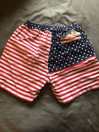 American flag men's chubbies size M Washington, 20001