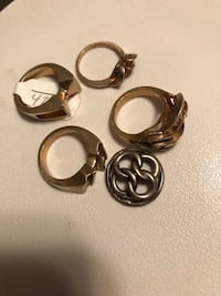 Lot sterling silver ring casting Henderson, 89012