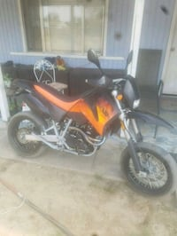 01 ktm lc4 640 ca plated  Bakersfield, 93314