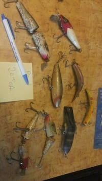 Fishing lures old and new  Belleville, K8N 4Z7