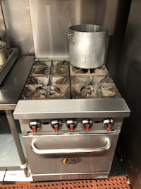 Commercial stove:oven