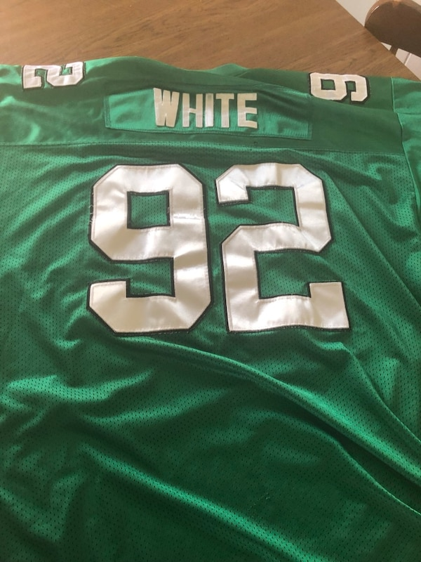 online retailer 02629 a7e19 Reggie white Mitchell and ness throwbacks jersey with Jerome brown patch  Size:
