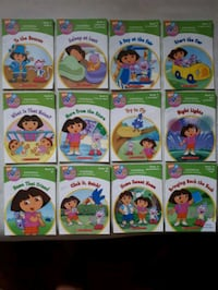 Set of 12. Learning phonics with Dora Barrie, L4N 2T9