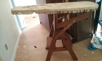Antique ironing board, step stool, chair Dallas, 75227