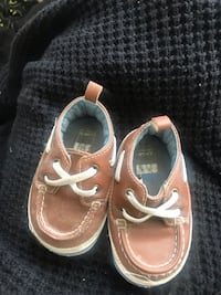 pair of brown leather boat shoes Temple Hills, 20748