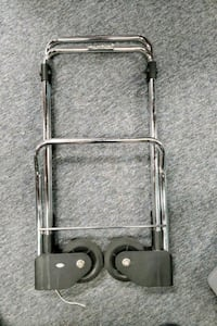 Collapsible luggage cart/holder