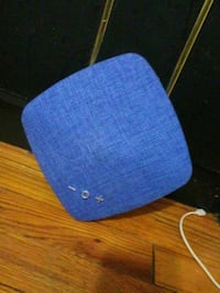 blue and white knit cap Baltimore, 21213