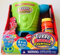 For when you need extra bubbles: Electric Turbo Bubble Fountain - BRAND NEW. Two available at $10 each. See my other offers Stockton, 95209