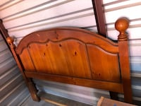brown wooden headboard and footboard Copperas Cove, 76522