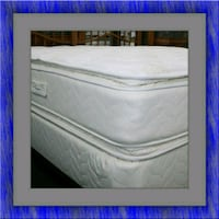 Twin mattress double pillow top with box spring Washington, 20002