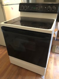 black and gray induction range oven 21 km
