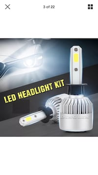 Led head light conversion kit new  Edmonton, T5T 4K6