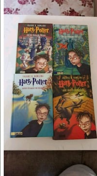 Harry Potter 1-4 buch