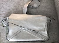 Sliver leather bag