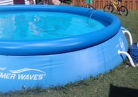 Summer Waves Pool, 15-ft x 36-in Laval, H7R 4Z9