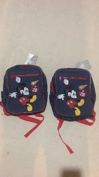 2 Disney backpack (3+)