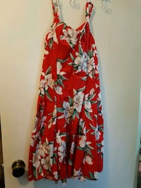 Red flowered dress  Winnipeg, R2J 0M3