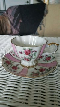 """Vintage  """"Japan"""" fine china footed cup and saucer Barrie, L4N 6C3"""