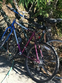 pink and blue mountain bicycle Lakeside, 92040