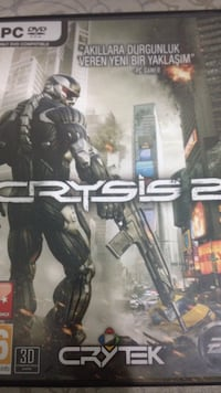 Crysis 2 PC DVD kılıfı Fatih, 34093