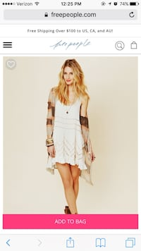 NWT Free People Dress San Diego, 92111