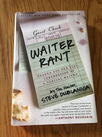 Water Rant book by Anthony Bourdain Plain, 53577