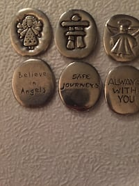 Angel Pewter Tokens  591 km