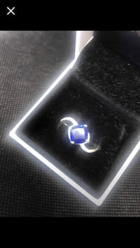 Silver Sapphire Ring  Dundee, DD5 3SB