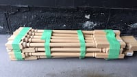 22 solid oak pickets for stairs Vaughan, L4H 3A6