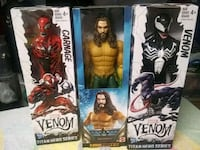 3 12inch Action Figures NEW
