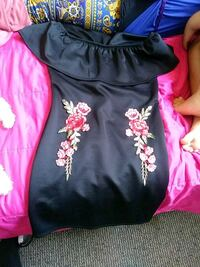 women's black and pink floral dress North Las Vegas, 89030