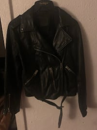 all saints leather jacket Carson, 90810