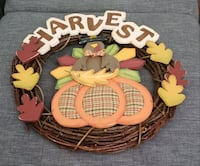 Harvest wreath, WELCOME signs, small autumn flags West Jordan, 84081