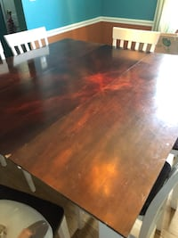 Bar height dining table with 6 chairs  Silver Spring, 20902