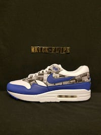 blue-and-white Nike Air Max shoes Pflugerville, 78660