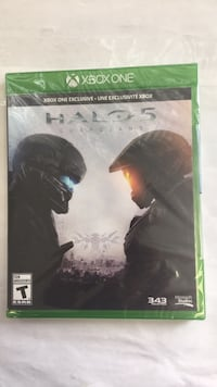 Halo 5 Xbox One game case Toronto, M1P